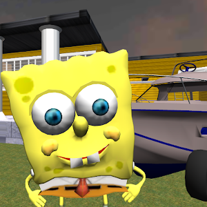 Sponge Neighbor Bob Adventures 3D New App on Andriod - Use on PC