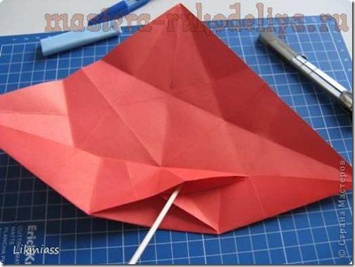flor de pascua origami (15)