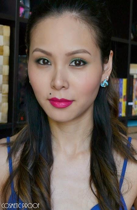 NYC Beauty Pro Makeup Look Andy Warhol Pop Art Bold Lip (7)