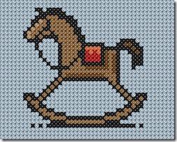 caballo balancin  punto de cruz  (3)
