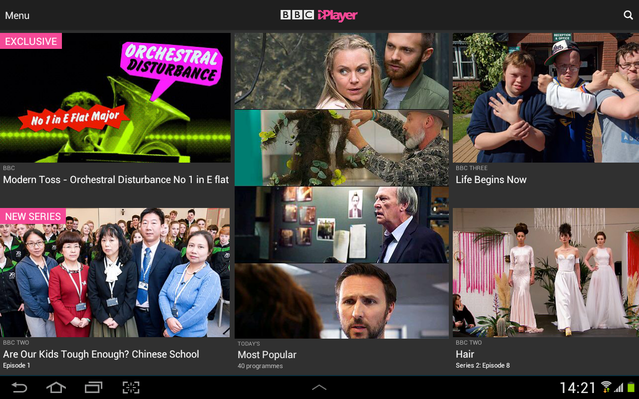 BBC iPlayer Screenshot 8