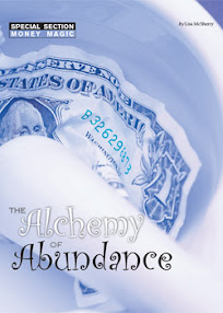 Cover of Lisa McSherry's Book The Alchemy of Abundance Practical Money Magic