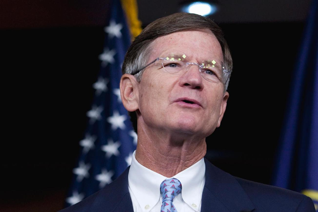 Rep. Lamar Smith, chairman of the House Science, Space and Technology Committee, is persecuting NOAA scientists over climate change research. Photo: U.S. News