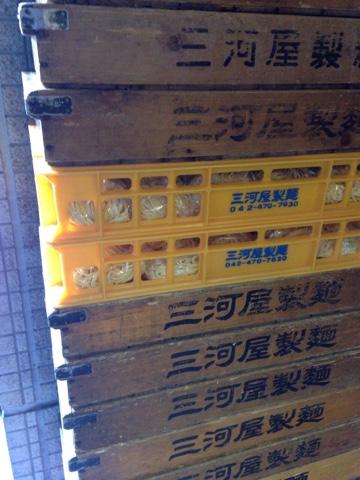 三河屋製麺の箱