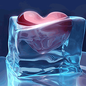 Ice Love Heart Frozen
