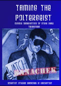 Cover of Banachek's Book Taming The Poltergeist