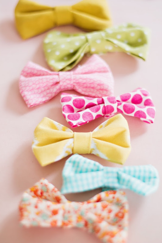 How to Make Super Easy Fabric Bows  (14)