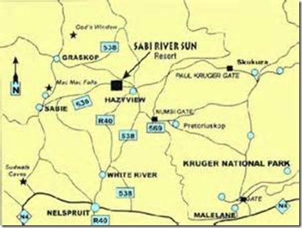 Sabi Sun Map