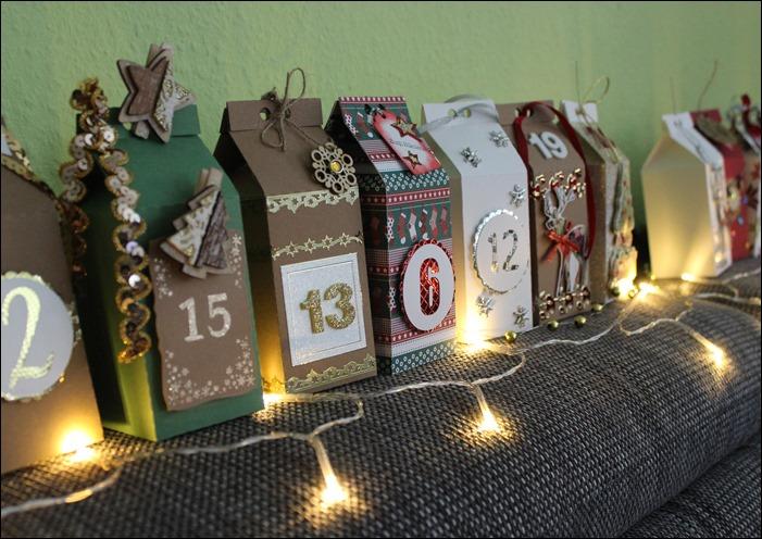 Adventskalender DIY selbstgemacht Milchkarton Milk Box 04
