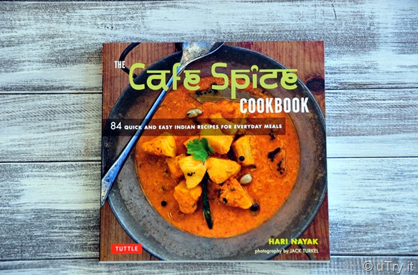 Cafe Spice Cookbook Review and Giveaway