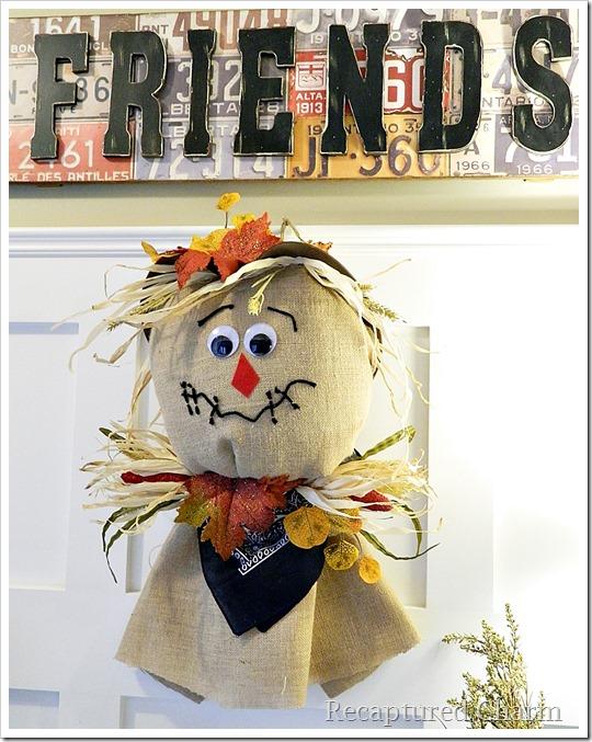 Burlap Scarecrow 24