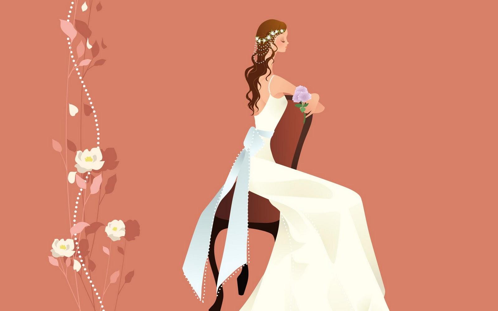 Wedding Theme Vector Clip Art