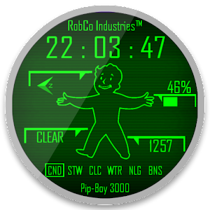 Pip-Boy Watchface  [10 in 1]