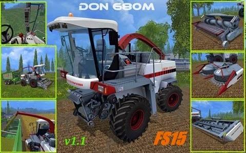 Farming simulator 2015 - Farming simulator 2015 - Don 680M v 1.1