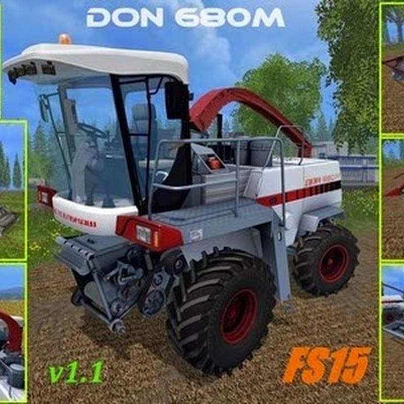 Farming simulator 2015 - Don 680M v 1.1
