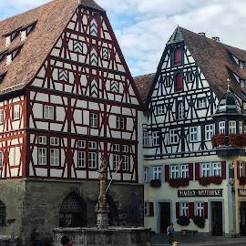 Rothenburg ob der Tauber by Shari Linger - Instagram & Mobile iPhone ( europe, bavaria, historical towns, germany, travel, medieval )