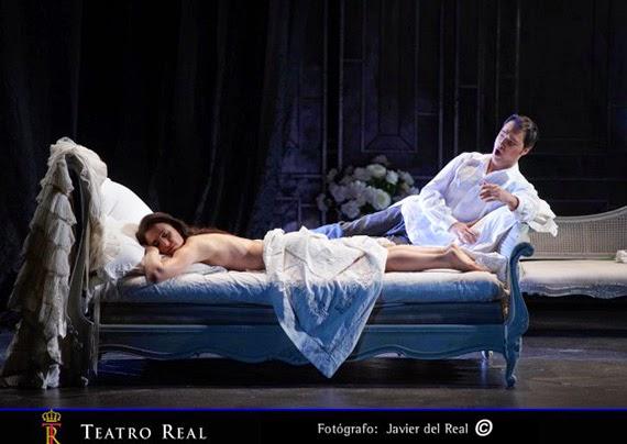 Conde Duque emite la representación de La Traviata en el Teatro Real