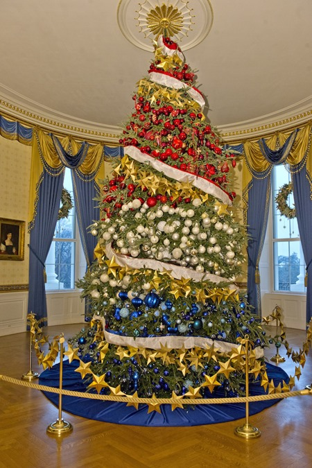 2015 White House Christmas Decorations
