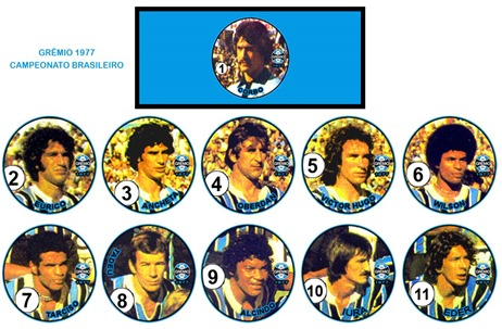 149 - Grêmio 1977 - Campeonato Brasileiro