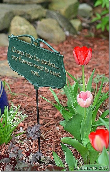 Garden sign Spring2