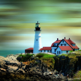 Portland Head Light, Maine by Kirsi Bertolini - Travel Locations Landmarks