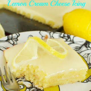 Lemon Sheet Cake from Scratch