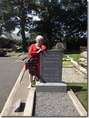 Yeat's grave 2