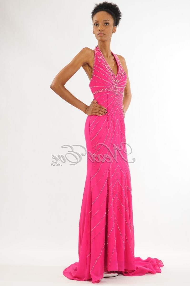 Dazzling Hot Pink Halter