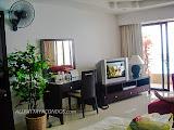 frontal sea view studio in beachfront condo    for sale in Jomtien Pattaya