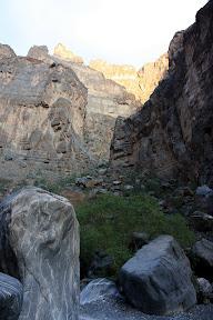 Wadi an Nakhur Gorge
