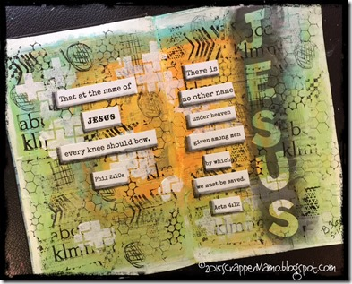 Challenge 3 Name of Jesus Art Journal