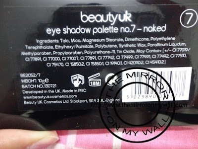 Beauty UK Eye Shadow Palette No 7 Naked5.JPG