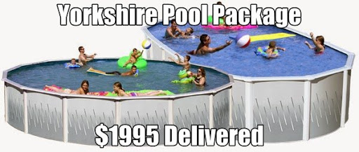 24 Round Pool Package Delivered to Your Home $1995 (Local Install available call for pricing)<br /><br />Yorkshire 20yr Warranty 24ft Round 52