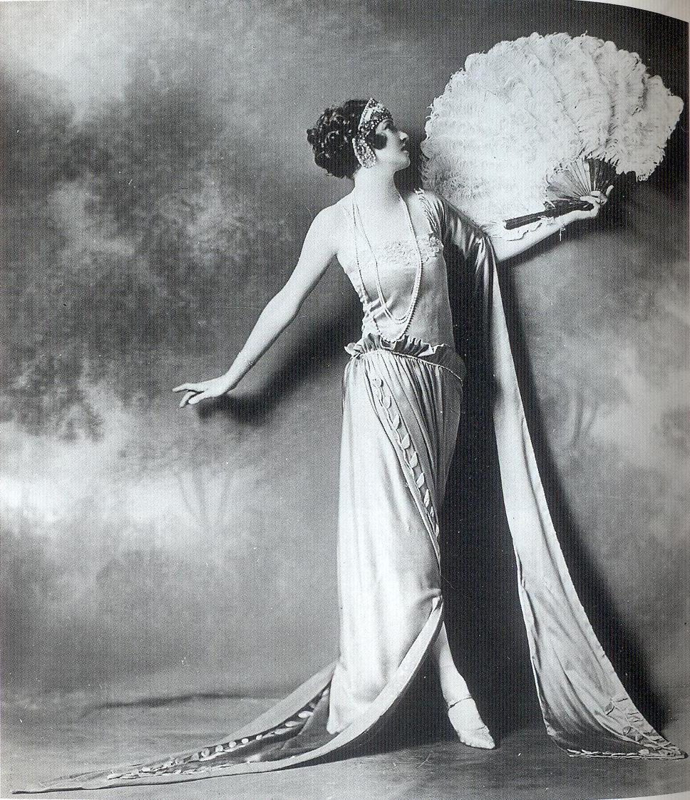 Dancer Irene Castle poses in a