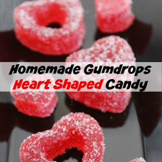 Homemade Gumdrop Heart Shaped Candy | DIY Valentine's Day
