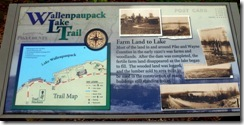 WLT info sign Farm Land to Lake