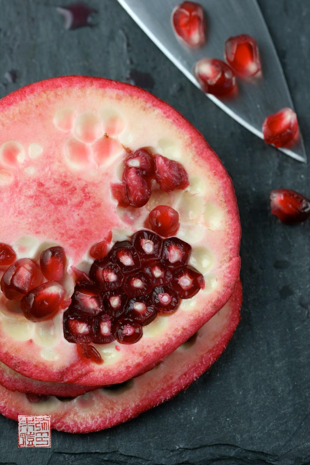 combination of pomegranate