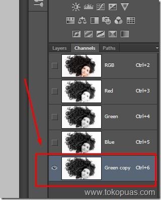 tutorial membuat seleksi rambut photoshop