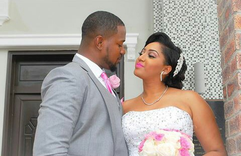 Mofe Duncan  (Nollywood actor and television personality) and Jessica Kakkad