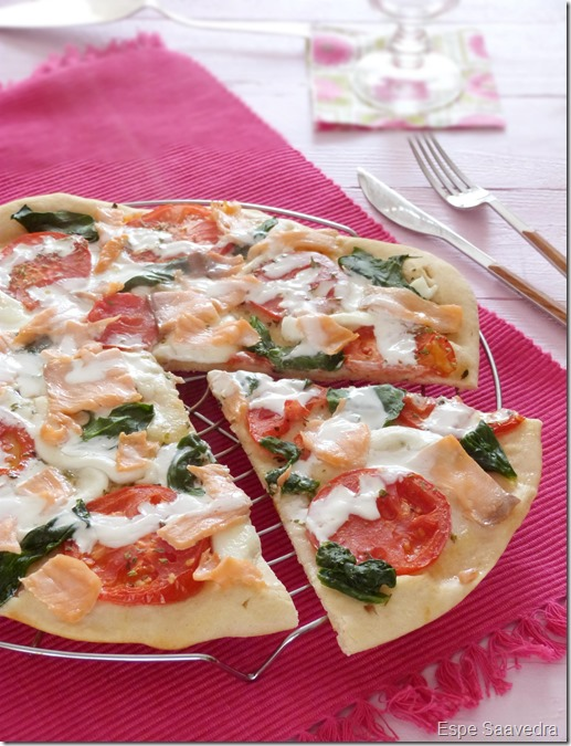 pizza salmon espe saavedra