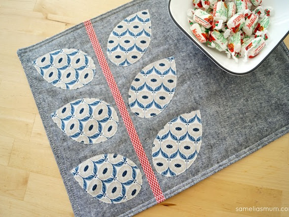 All Seasons Placemats {Tutorial + Pattern}