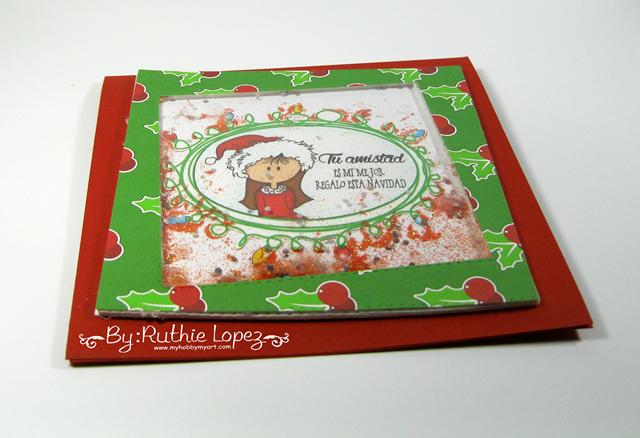 Garabattas - Navidad - Papeles - Tarjeeta de Navidad - Ruthie Lopez 3