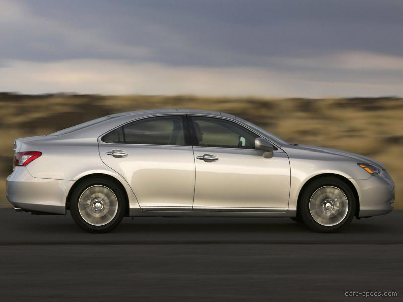 2007 lexus es 350 sedan specifications pictures prices. Black Bedroom Furniture Sets. Home Design Ideas