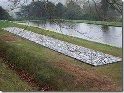 Richard Long slate sculpture