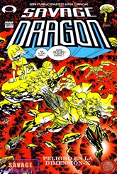 95 - Savage Dragon #110 por Herbie Grimm y Kimota
