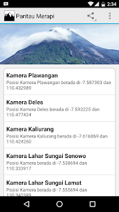 Pantau Merapi CCTV screenshot for Android