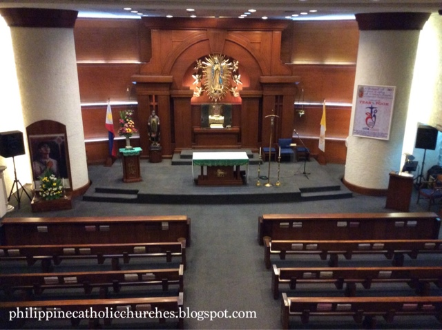 OUR LADY OF GUADALUPE CHAPEL, BDO Corporate Center, Makati City, Philippines