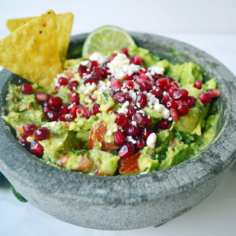 Best Ever Homemade Guacamole and Chips