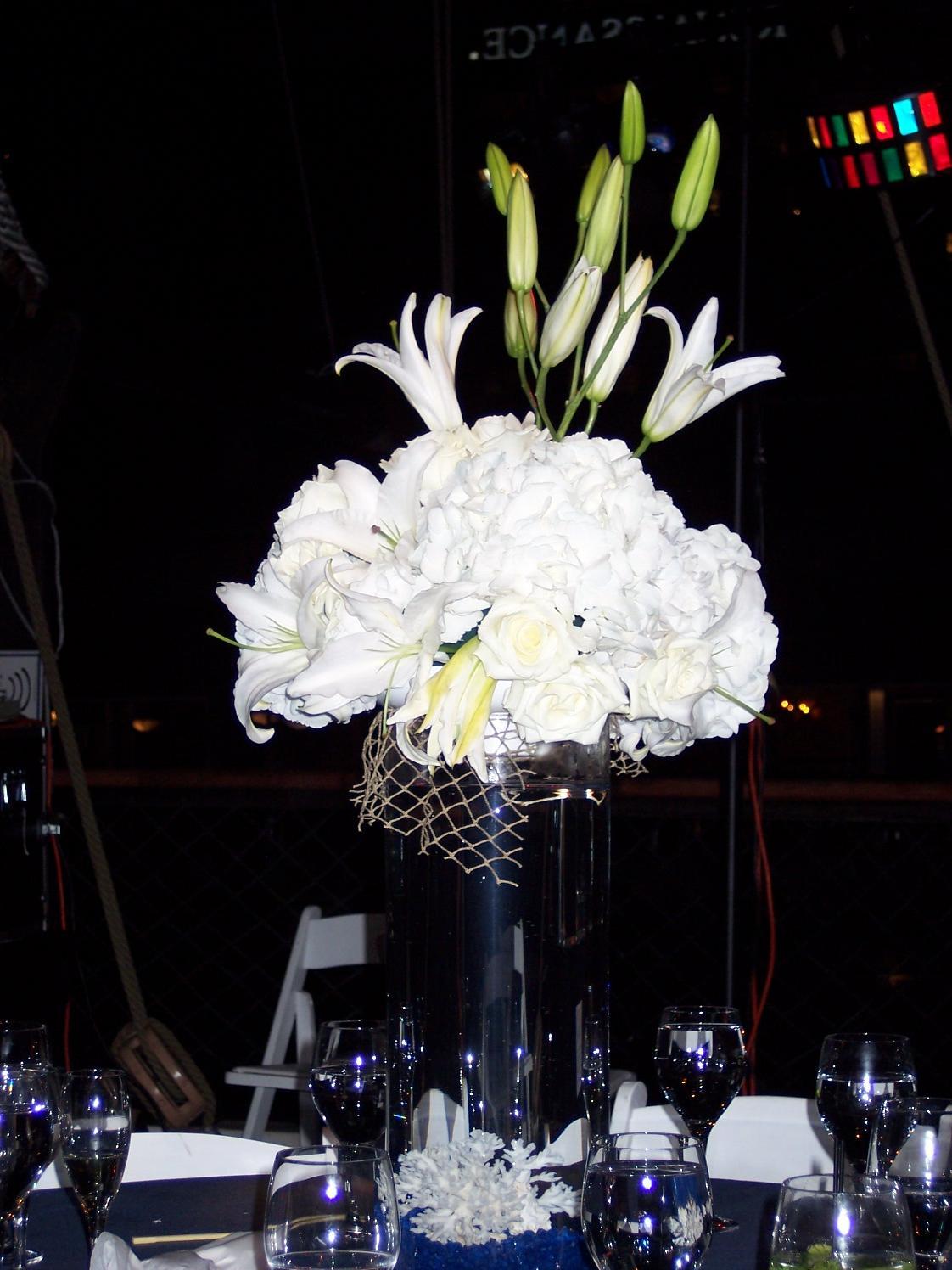 Bernadine 39 s blog a perfect wedding dress or a for Beta fish centerpiece