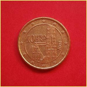 Austria 10 céntimos Euro